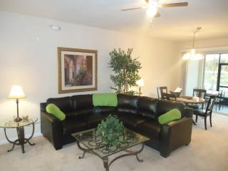 very cozy living room and dining room. Spare dining tables and chairs for 4 in the lanai