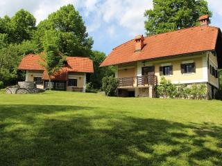 Two country houses near Ljubljana
