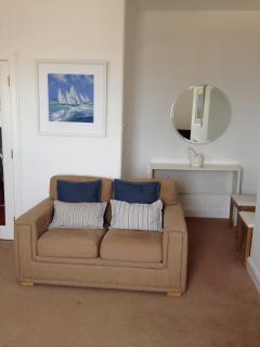 Lounge in Millport Beach Apartment, Stuart St, Millport