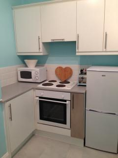 Kitchen in Millport Beach Apartment, Stuart St, Millport