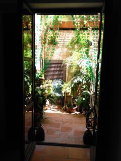 patio desde apartamento