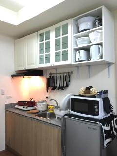 Kitchen complete with your cooking basic needs