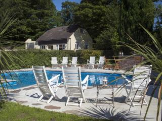 Country idyll with pool and garden set in 20 acres within Dartmoor National Park