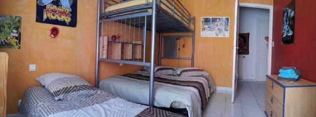 La seconde chambre avec lit double