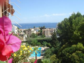 Semi-attic Palma-seaview,pool,beach, San Agustin