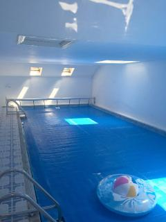 Private, Heated, Indoor Swimming Pool