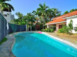 Private Luxury Villa in Spanish Style and rent car, Sosua