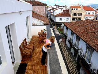 Apartments in the historic center of the city of P