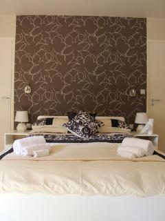 Master bedroom double bed
