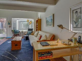 Never miss a beach sunrise or sunset in this cozy condo