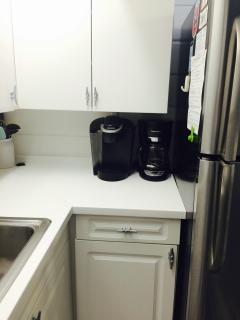 Fully Stocked Kitchen Including a Keurig Machine