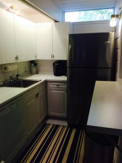 Renovated Kitchen with fold down counter top