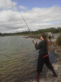 Fishing on Lough Carra