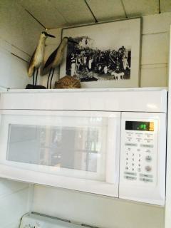 New Microwave and Hood 2015