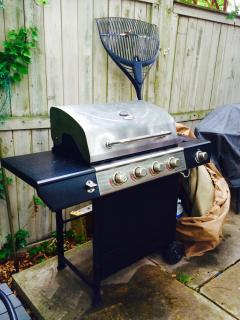 New gas grill 2015