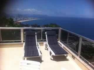 Vidigal Sea View apt. con vista para o mar, Rio de Janeiro