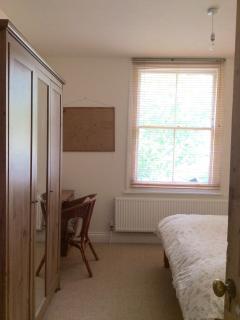 Bedroom wardrobe and desk