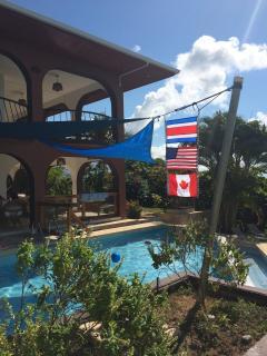 Casa Flags (Costa Rica, US, Canada)