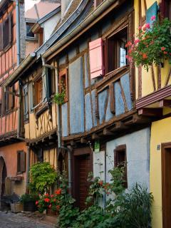 les belles maisons d'Eguisheim
