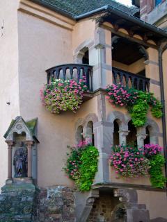 les balcons fleuries