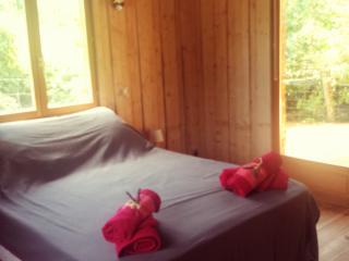 Maison en bois ecoartlodge, Prades