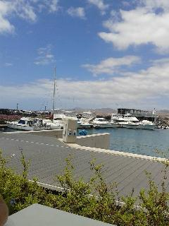 Harbour at Caleta