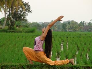 Anita's Eat Pray Love Rice Field Cottage Ubud Bali