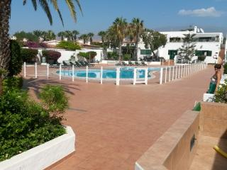TENERIFE Cosy family app. Ground Floor view on swimming pool., Costa del Silencio