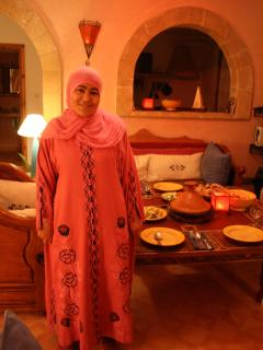 Karima  - Dar Doughri's  trusted housekeeper and fabulous cook for the last 8 years