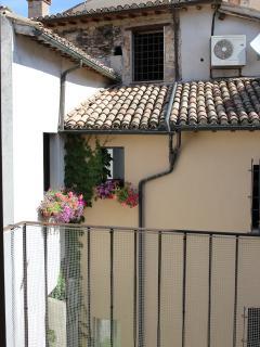 dal balcone di casa