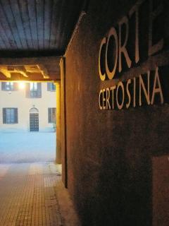 Entrata della Corte Certosina