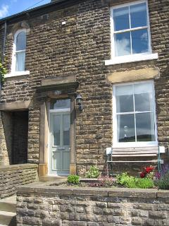 Peak Cottage, our bright and spacious stone-built terraced cottage at the base of Kinder Scout