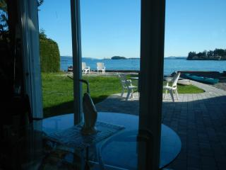 Sidney Roberts Bay waterfront apartment