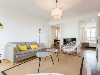 Large designer home overlooking Place de Clichy, Paris