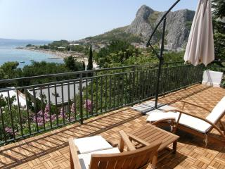 spectacular view of the sea, Omis