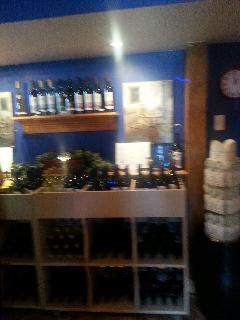 Inside the perfect little  shop; great staff complementary  wine tastings!