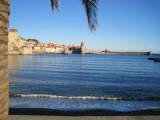 First Floor Apartment - with balcony & sea view, Collioure