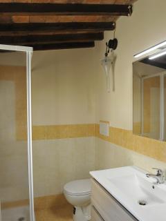 Anche Il bagno è in stile originale