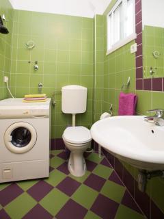Bathroom - washing machine