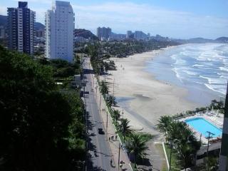 Lindo apartamento FRENTE PARA O MAR, Guaruja