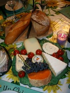 Our famous cheeseboard
