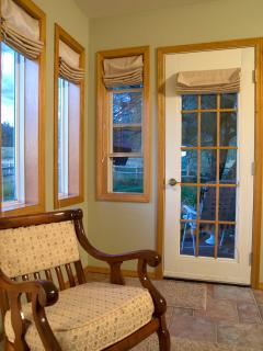 Master Suite side door