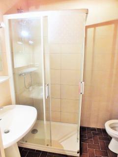 Shower room (upstairs)