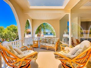 Delightful Family Vacation House-Ocean Views, Large Patio, Steps to the Water