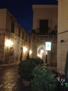 the street where my apartment is..in the centre of Barletta movida
