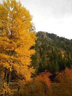 Spectacular colors throughout Leavenworth and the mountains in Autumn.
