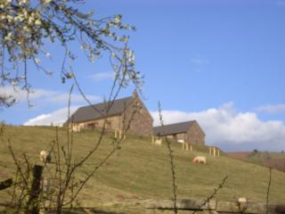 Barn at hall farm, Crickhowell