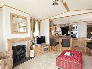 Prestige Caravan on exclusive location, Prestonpans