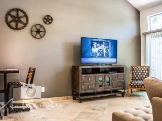 Premium Direct TV, Blu-Ray player and family friendly movie selection
