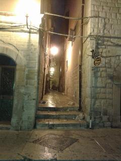 vico Rue Chiuse.. via Fieramosca Corner..